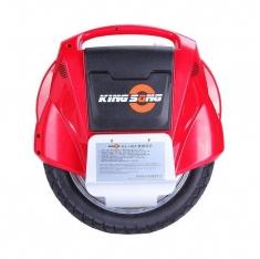 Красное моноколесо Kingsong14C - вид сбоку