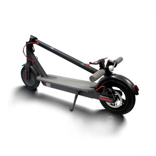 Черный Xiaomi Mijia Electric Scooter PRO сложенный